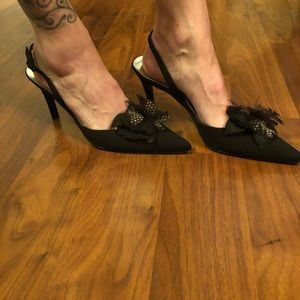 Stuart Weitzman sling back heels. NWOT